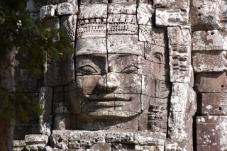 Angkor Wat at Christmas, and no-one is hanging tinsel on the temples