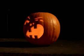 This year's pumpkin - woooOOOOooo!