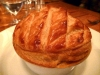 There's nothing more friendly than a huge puff of pastry promising a perfect pie