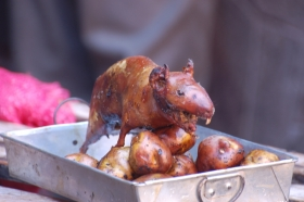 Is roast guinea pig really the peak of South American cuisine?