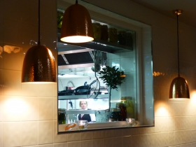 Peek into the kitchen from the No 1 Vault