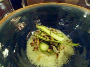 Crab n asparagus