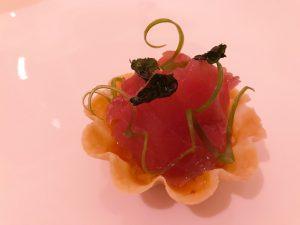 Tuna and kimchi