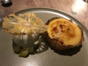 Pineapple and pepper pud